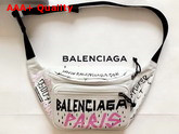 Balenciaga Explorer Beltpack Graffiti White Grey Replica