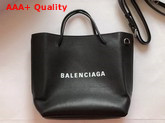 Balenciaga Shopping Tote XXS Black Grained Calfskin Replica