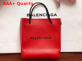 Balenciaga Shopping Tote XXS Red Grained Calfskin Replica