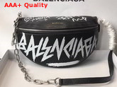 Balenciaga Souvenir Bag XS Graffiti Black Replica