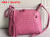 Bottega Veneta Intrecciato Nappa Leather Nodini Bag in Rose Color Replica
