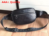 Bottega Veneta Nero Intrecciato VN Belt Bag Replica