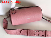 Burberry Leather Barrel Bag in Ash Rose Calf Leather Replica