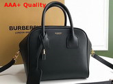 Burberry Small Leather Cube Bag in Black Replica