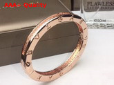Bvlgari B Zero1 Bracelet with Crystals Pink Gold Replica