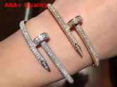 Cartier Juste Un Clou Bracelet Allover Diamonds Replica