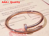 Cartier Juste Un Clou Bracelet Pink Gold Diamonds Replica