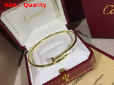 Cartier Juste Un Clou Bracelet Yellow Gold Replica