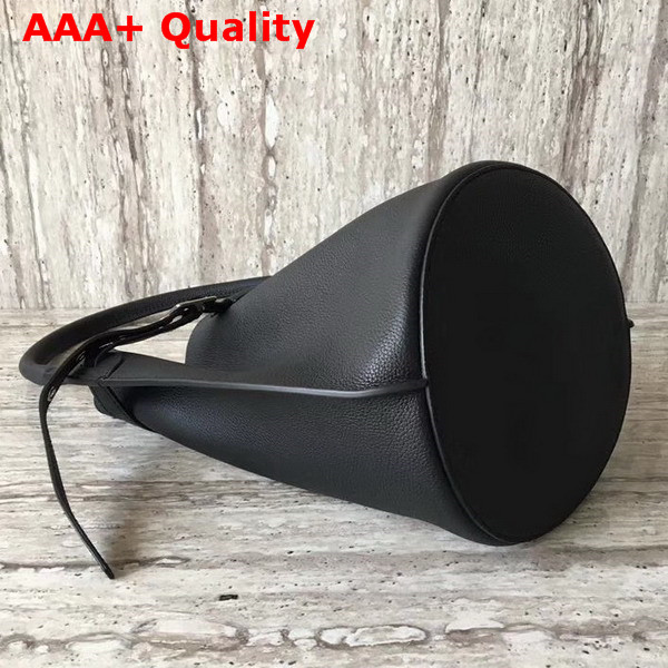 Celine Big Bag Bucket in Black Supple Grained Calfskin Replica