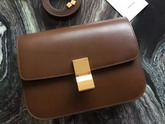 Celine Box in Tan Smooth Leather for Sale