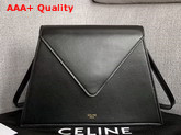 Celine Geometric Bag in Black Smooth Calfskin Replica