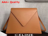 Celine Geometric Bag in Tan Smooth Calfskin Replica