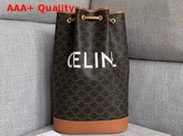 Celine Medium Sailor Bag in Triompe Canvas Replica