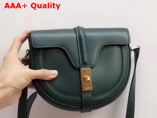 Celine Small Besace 16 Bag in Amazone Satinated Calfskin Replica
