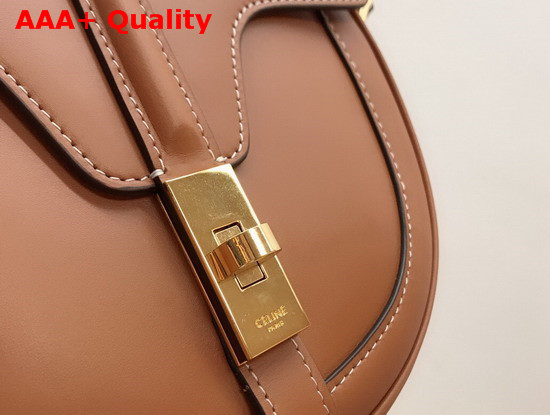 Celine Small Besace 16 Bag in Tan Natural Calfskin Replica