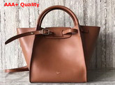 Celine Small Big Bag in Tan Smooth Calfskin Replica