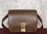 Celine Small Box Tan Smooth Calfskin For Sale