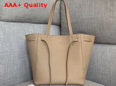 Celine Small Cabas Phantom in Beige Soft Grained Calfskin Replica