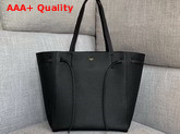 Celine Small Cabas Phantom in Black Soft Grained Calfskin Replica