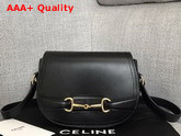 Celine Small Grecy Bag in Black Satinated Calfskin Replica