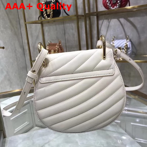 Chloe Mini Drew Bijou Bag in Natural White Quilted Smooth Calfskin Replica