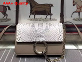 Chloe Small Faye Bag in Pattern Python Grey Replica