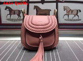 Chloe Small Hudson Bag in Pink Smooth Calfskin Replica