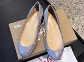 Christian Louboutin Strass Flat Lihgt Purple For Sale