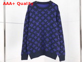 Louis Vuitton Full Monogram Jacquard Crew Neck Ocean 1A5CPU Replica 1A5CPU
