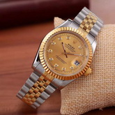Rolex Date Just Oyster Perpetual Yellow Gold With Steel for Sale