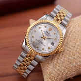 Rolex Date Just Sparkle Star Steel And Yellow Gold for Sale