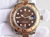 Rolex Yacht Master Pink Gold with Silver 2386 Movement for Sale