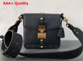 Dior Square Dioraddict Flap Bag Deep Blue Smooth Calfskin Replica