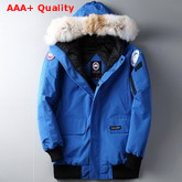Canada Goose Down Filled Parka in Bright Blue Replica