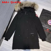 Canada Goose Womens Trillium Parka in Black Replica