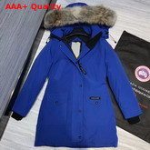 Canada Goose Womens Trillium Parka in Bright Blue Replica