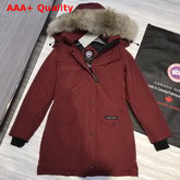 Canada Goose Womens Trillium Parka in Redwood Replica