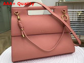 Givenchy Large Whip Bag in Antique Rose Smooth Leather Replica
