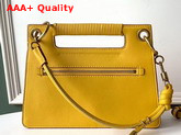 Givenchy Medium Whip Bag in Curry Yellow Smooth Leather Replica