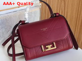 Givenchy Mini Eden Bag in Red Smooth Leather Replica