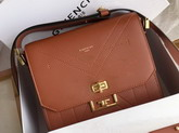Givenchy Small Eden Bag in Brwon Smooth Leather Replica