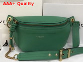Givenchy Whip Belt Bag in Green Smooth Leather Replica