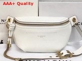 Givenchy Whip Belt Bag in White Smooth Leather Replica