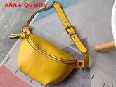 Givenchy Whip Chained Belt Bag in Yellow Smooth Leather Replica