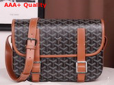 Goyard Belvedere MM Messenger Bag Brown Replica