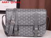 Goyard Belvedere MM Messenger Bag Grey Replica