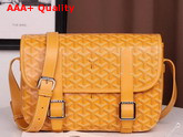 Goyard Belvedere MM Messenger Bag in Yellow Replica