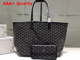 Goyard The Damona Millesime Marquage Shopping Bag in Black Replica