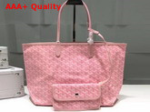 Goyard The Damona Millesime Marquage Shopping Bag in Pink Replica