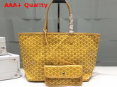 Goyard The Damona Millesime Marquage Shopping Bag in Yellow Replica